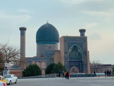 ドキドキの初・中央アジア一人旅は、ウズベキスタンへ! Vol.4 サマルカンド・ブルーに魅せられて…グリ・アミール廟編
