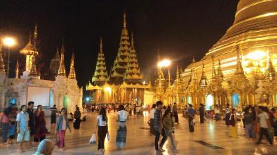 ミャンマー観光 Part3.シュエモートバゴダ(旧王宮)