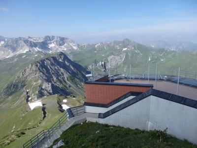 2019夏のスイス旅【32】ヴァイスホルンからハイキング開始!