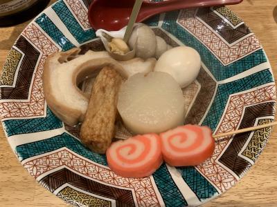 師走の金沢でご飯を食べて、買物する