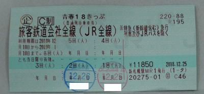 冬の日本横断放浪記その2