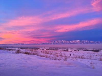 2019 クリスマス・ユタ州ローガン親戚訪問とソルトレイクシティ/スキーと温泉 1