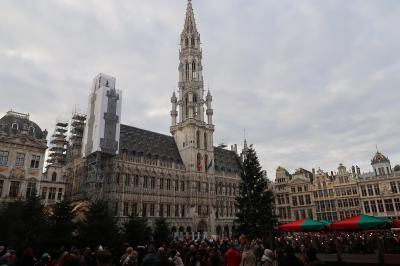 年末年始はブリュッセル:1(フランスのストを逃れて計画変更の往路編)