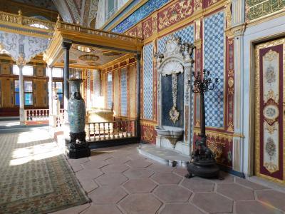 イスタンブール2☆トプカプ宮殿・ハレム・考古学博物館