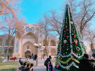 """ドキドキの初・中央アジア一人旅は、ウズベキスタンへ! Vol.5 青の都・サマルカンドとは別世界! """"砂漠のオアシス""""、ブハラへ♪"""