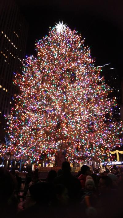 CHRISTMAS IN NewYork! クリスマスツリー&アート巡り