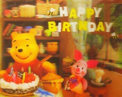 Happy Birthday*。.:*・☆・゜