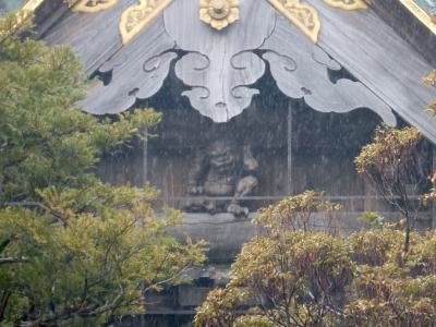 遠いけど、行ってチーバくん その1・雨の成田山新勝寺