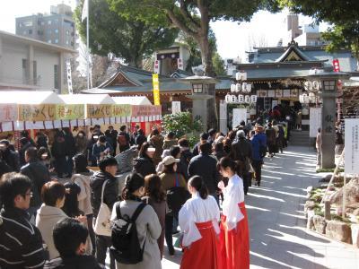 2020年 初詣の福岡市内を気ままにぶらり旅