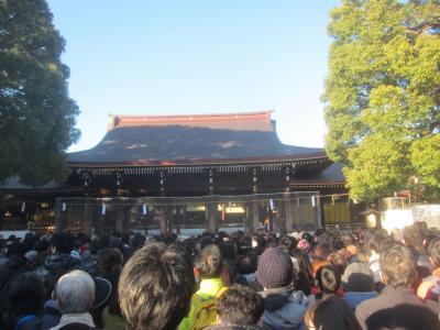2020年始まりました! 原宿明治神宮初詣から箱根駅伝・一般参賀のお正月三が日 +渋谷で1日