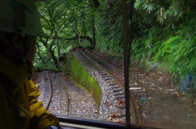 立山砂防工事専用軌道に乗って立山カルデラ砂防を知る