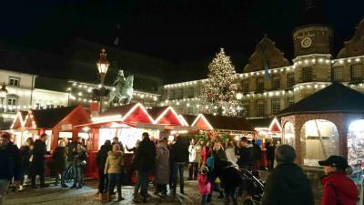 2019年12月26日(第2のクリスマスの祝日)のクリスマスマーケット Duesseldorf