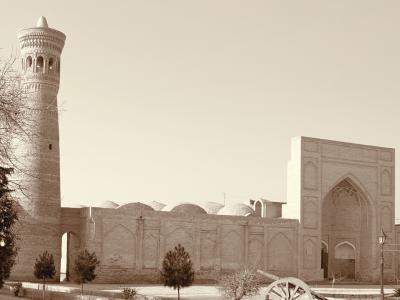 ドキドキの初・中央アジア一人旅は、ウズベキスタンへ! Vol.6 セピア色での撮影が似合う街・ブハラ