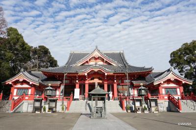 東海道佐屋廻りの名所をたどる(甚目寺、津島神社)