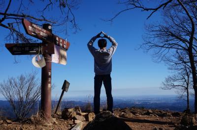 3回目の元日低山縦走は高水三山