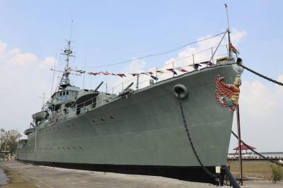 タイ海軍保存艦メークロン号