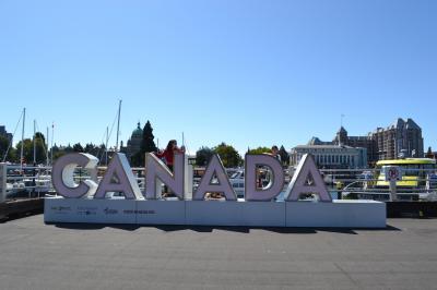 最終章ビクトリア(バンクーバーアイランド)編!美国カナダのバンクーバーで夏の親子旅☆国旗・カモメ・海