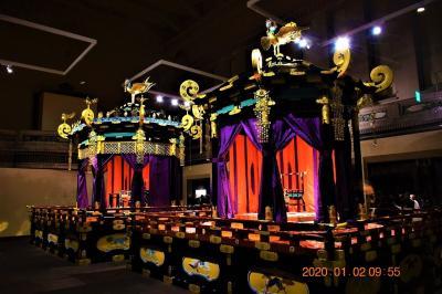 2020 東京国立博物館特別公開 即位礼正殿の儀に用いられた『高御座と御帳台』を観覧