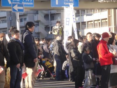 第96回 箱根駅伝 蒲田にて観戦