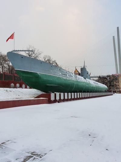潜水艦に入ってみた。