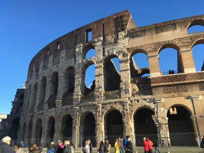クリスマスのローマ フィレンツェ ヴァチカン市国 一人旅② 3日目 ローマ