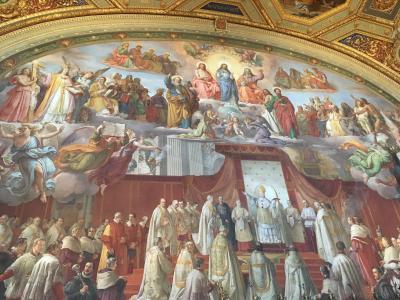クリスマスのローマ フィレンツェ ヴァチカン市国 一人旅③ 4日目 ローマ