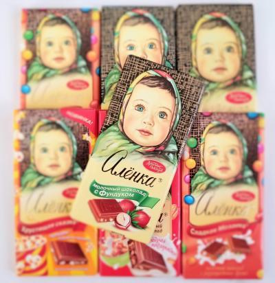 【1】また来たよアリョンカちゃん!美味しいチョコレート菓子を買いに☆ロシア:モスクワ8日間