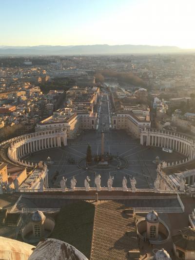クリスマスのローマ フィレンツェ ヴァチカン市国 一人旅⑤ 6日目 帰国