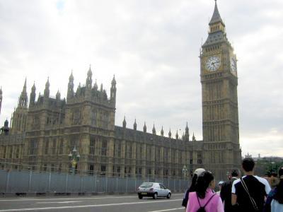 ロンドン市内巡り