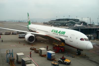 新年快樂!2020年最初の旅は臺灣1★エバー航空で香港から桃園へ