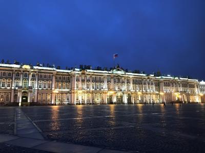 初ロシアとサンクトペテルブルクで年越し(2020年1月)