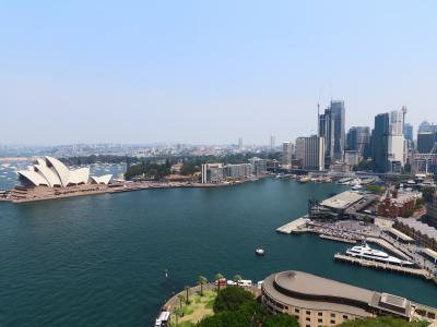 シドニー中心部 一筆書き散歩
