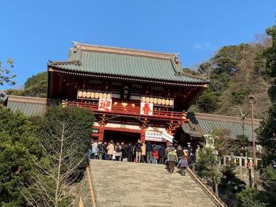 鎌倉に初詣