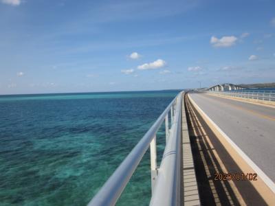 2020年SFC修行 宮古島へ ②伊良部大橋を歩いて渡る