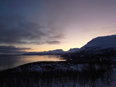 2019年末はスウェーデンのアビスコでスキーとオーロラ鑑賞