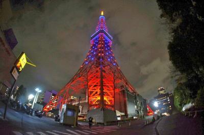 東京横浜の夜景を満喫+王道を観光する旅2 イルミネーション撮影しまくる・夜の部編