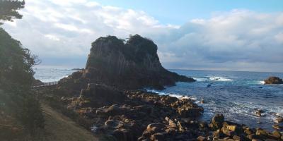 永平寺と日本海