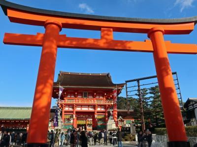 年末の京都旅行(1)定期観光バスでラクラク京都市内観光
