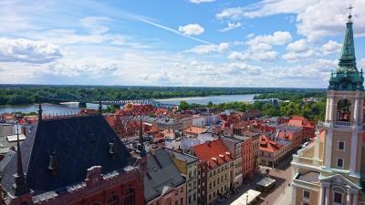 雨多き初夏のポーランド(8) ポーランド中部の穏やかな時間が流れる街 トルン