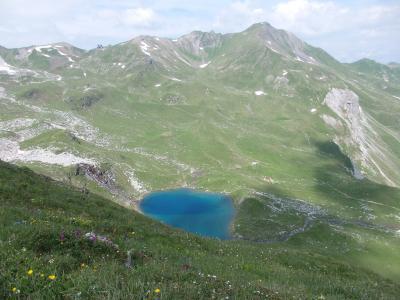 2019夏のスイス旅【33】ヘルンリ小屋に向けてハイキングは続く