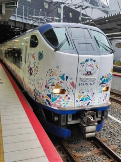 JR新大阪で関空行 はるかに乗り換える!