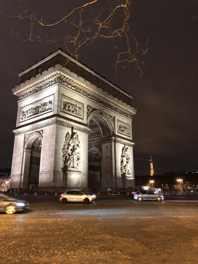 年末年始パリ旅行