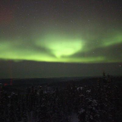 -40℃の世界/オーロラと真冬のアラスカ鉄道
