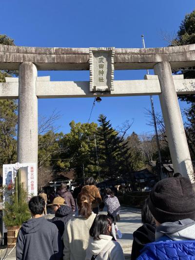 甲斐の国・武田神社に初詣