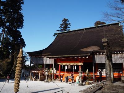 英彦山神宮へ初詣