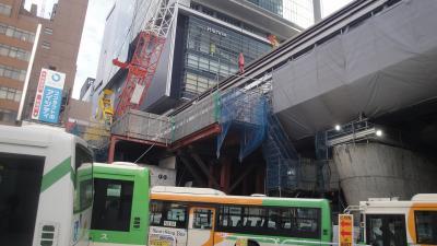 都営バスの旅-1 三田―渋谷 田87系統  溜池ー六本木ー渋谷 都01系統
