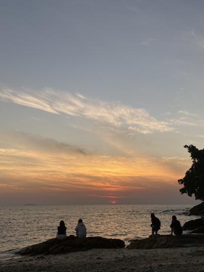 まだまだ正月休みなので、サメット島に行ってみる事に その3 夕陽を見るために散歩