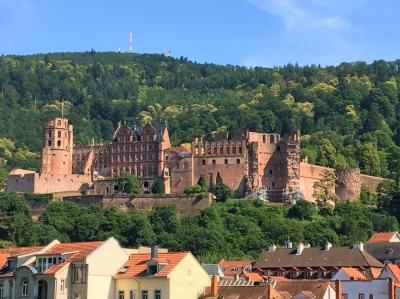 ドイツ周遊の旅⑭  お城と城下街のハイデルベルク