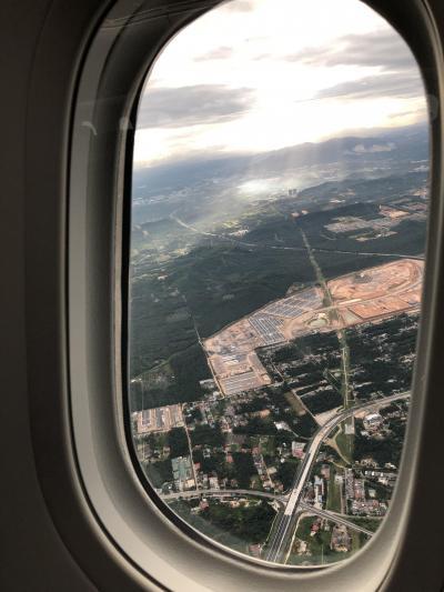 2020年は弾丸マレーシアスタート 空港泊
