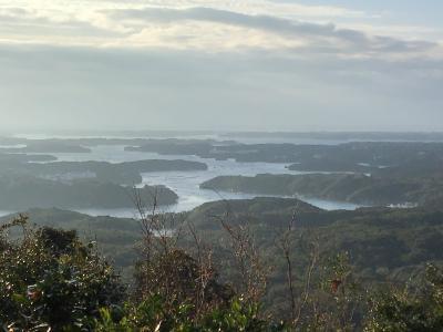 横山展望台からの景色~賢島